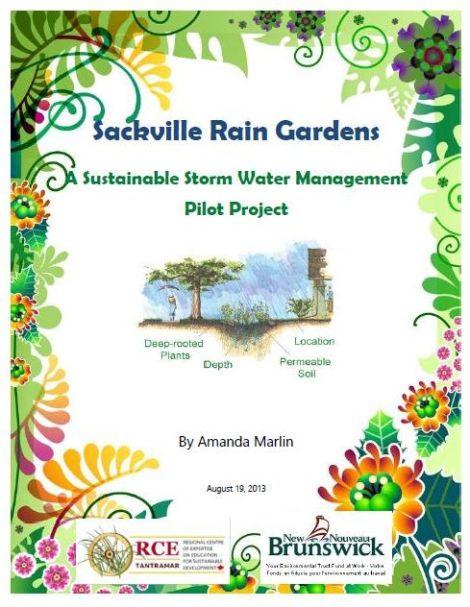 Rain Garden Report